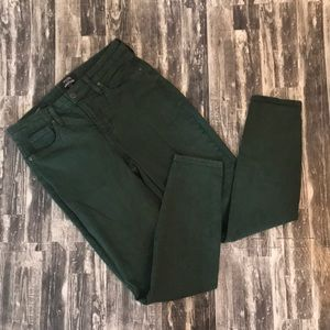 Green skinny jean NYDJ for Chico's size 0